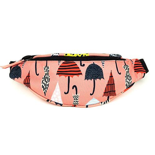 Mini hip bag - Rain of Umbrellas