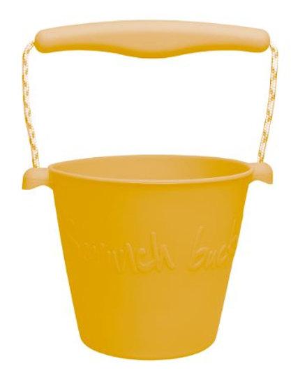 Scrunch Bucket-Mustard