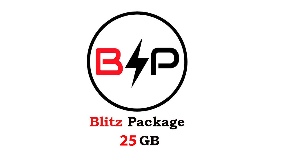 Blitz Package - 25GB