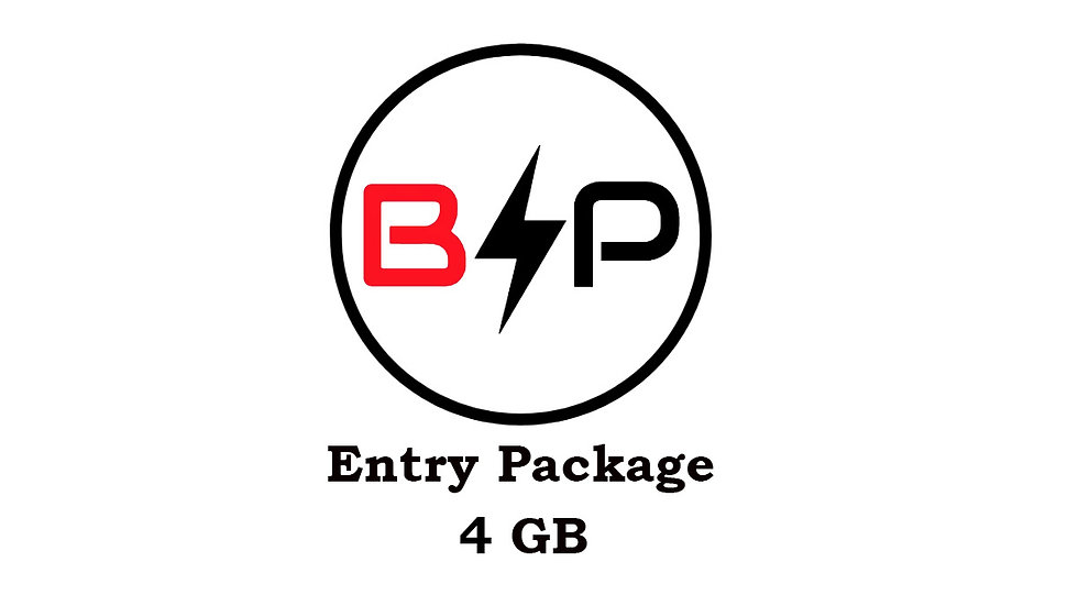 Entry Package - 4GB