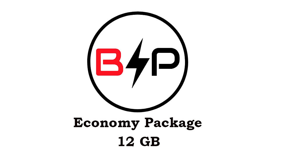 Economy Package - 12GB