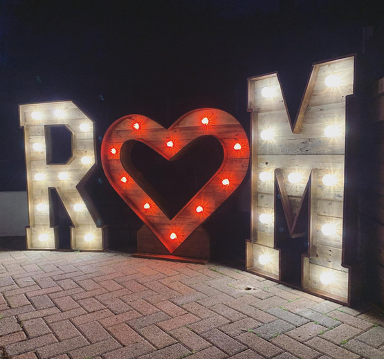 Our New 3.5ft Rustic Heart