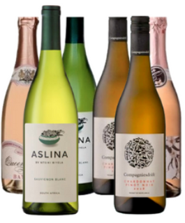 White Pearls 6-Pack Mix Case Wine Bundle