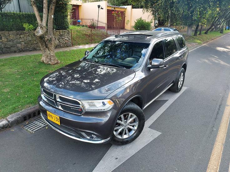 Dodge Durango Limited 3.600 Cc At 7 Puestos La Mas Full Techo