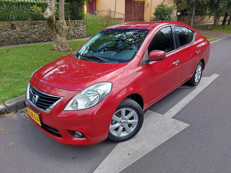 Nissan Versa Advance Mt 1.6
