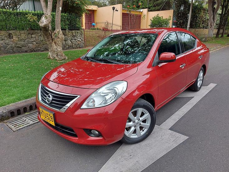 Nissan Versa Advance Mt 1.600