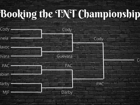Booking the AEW TNT Championship Tournament with Statistics