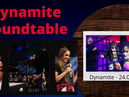 AEW Dynamite 24.03.21 - The Dynamite Roundtable