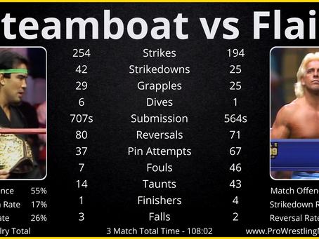 WGR#3 - Ricky Steamboat vs Ric Flair