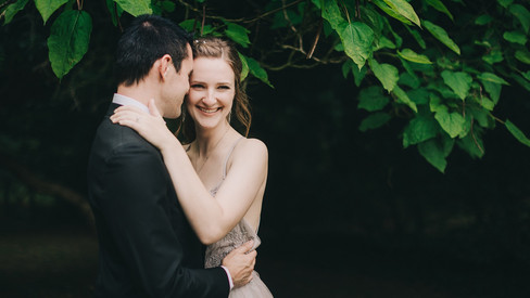 A video of a castle wedding elopement in Denmark at Lolland Island, inspiration for what your small wedding abroad could be.