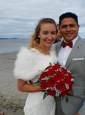 Lauren&Pedro get married in Denmark