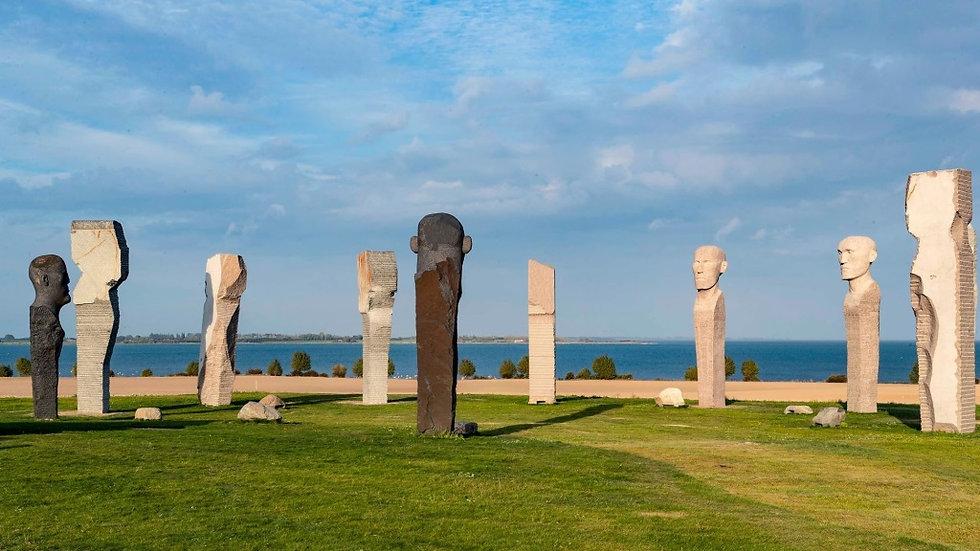 Danish Stonehenge on island of Lolland