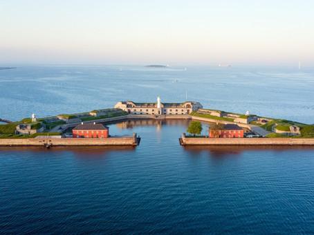 An unusual wedding venue -The Old Fort in the Harbour of Copenhagen