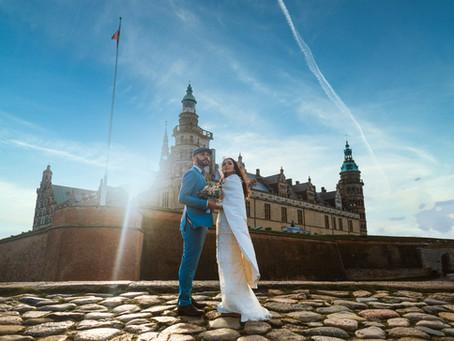 Kronborg Castle Elopement of Mr M. and Miss G.