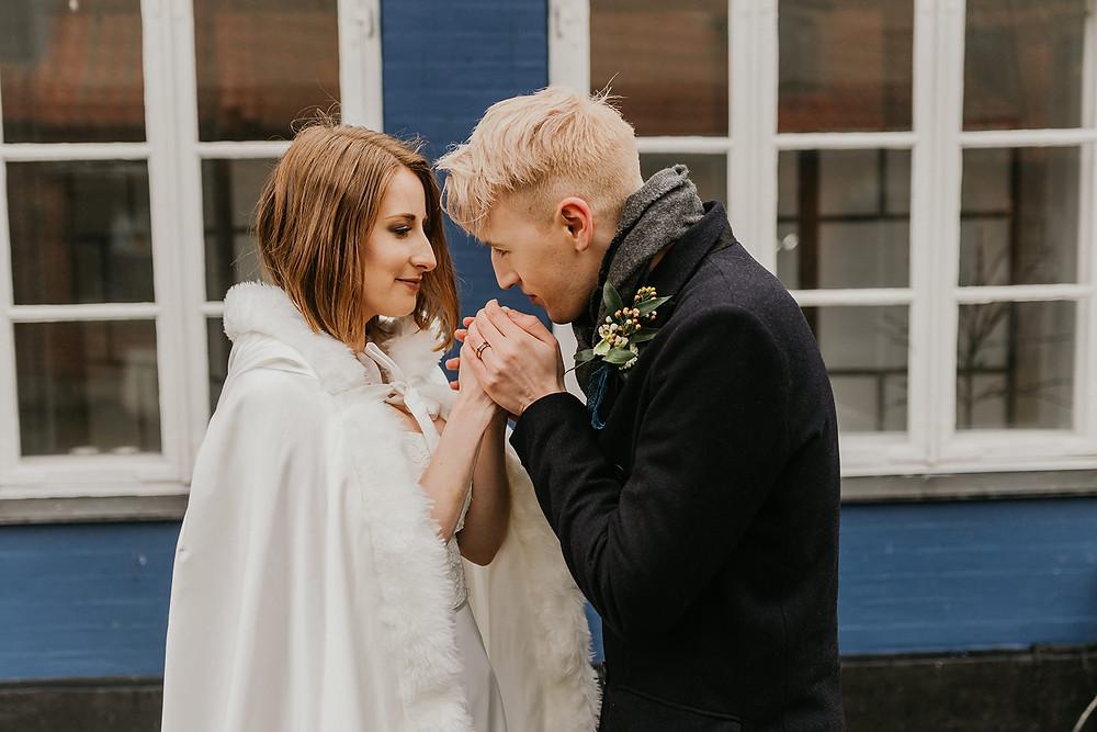 Winter wedding in Denmark is a fairytale for 2