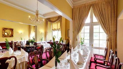 A big room  the Hvedholm Castlem, a great castle to get married in Denmark.