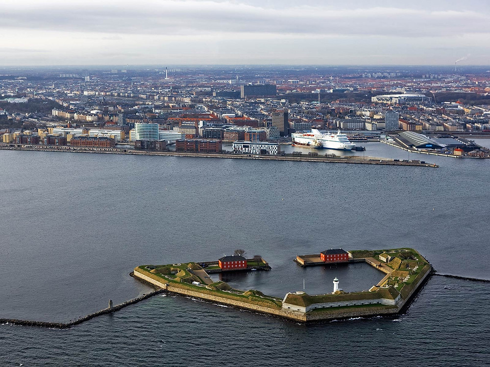 Unusual wedding venue in Denmark, an old fort