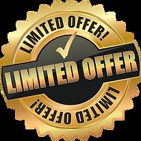 Limited Offer Sign