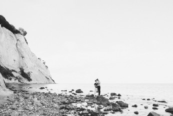Møns Klint, a fantastic wedding island destination in Denmark, perfect for eloping abroad.