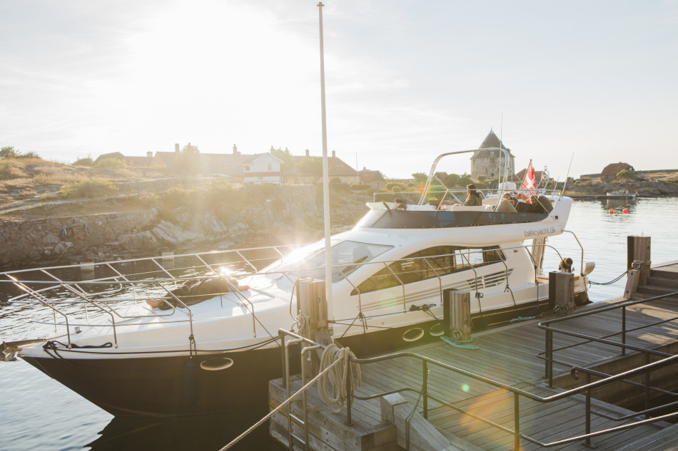 A photo of the boat which can be a wedding venue for couples eloping abroad