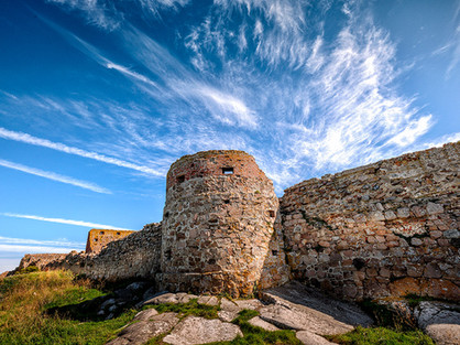 Hammershus-ruin-on-Bornholm