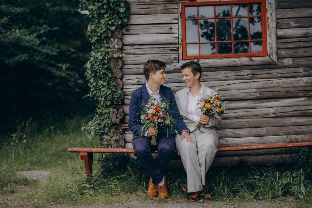 LGBT forest elopement in Denmark