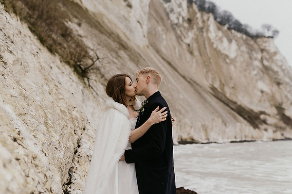 Elopement  for German couple planned by Danish wedding planner