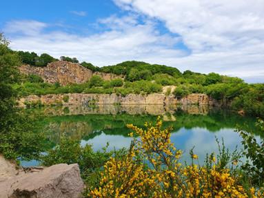 Opal-lake-on-Bornholm-island