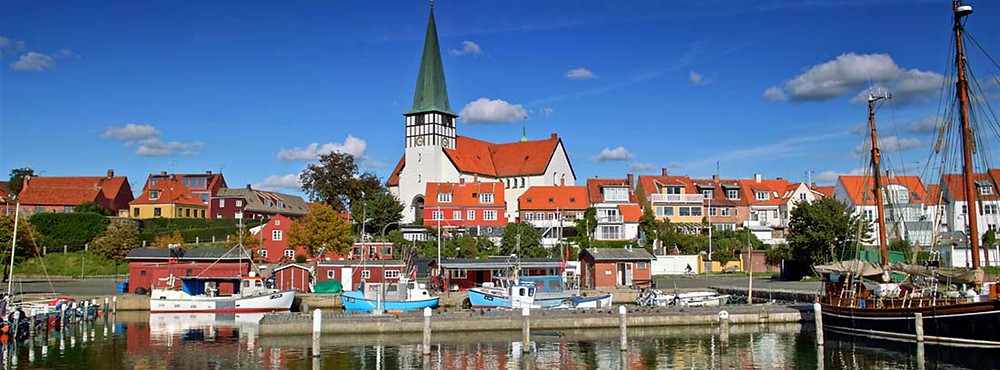 A little Danish town as your ideal venue for your oversead wedding