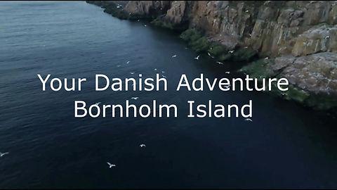 Adventure elopement idea - eloping abroad on the wild Danish island Bornholm.