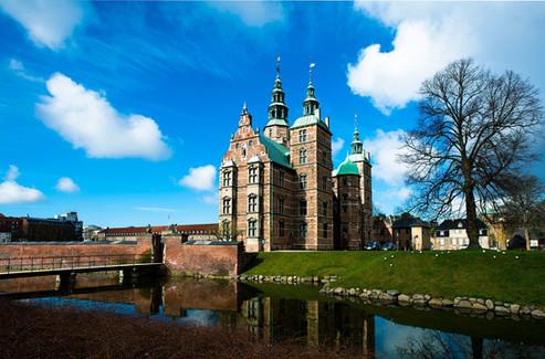 One of the many castles in Copenhagen area.
