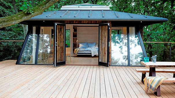 The treehouse in Denmark, a lovely idea for couples wanted to elope abroad.