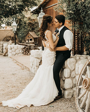 Newlyweds kissing passionately at their adventure elopement abroad