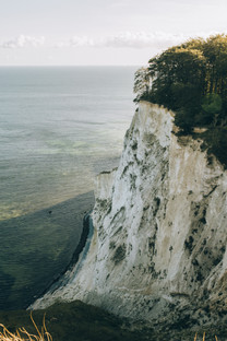 The majestic chalk cliffs on Møn Island, a perfect destination for a small wedding abroad in Denmark.