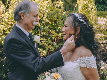 True Love – Senior Wedding of Cami and Jens