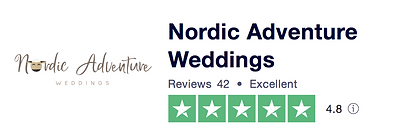 Our TrustPilot rating, read our getting married in denmark reviews.