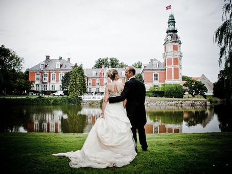 Funen Island Hvedholm Castle Weddings | Elopement Packages