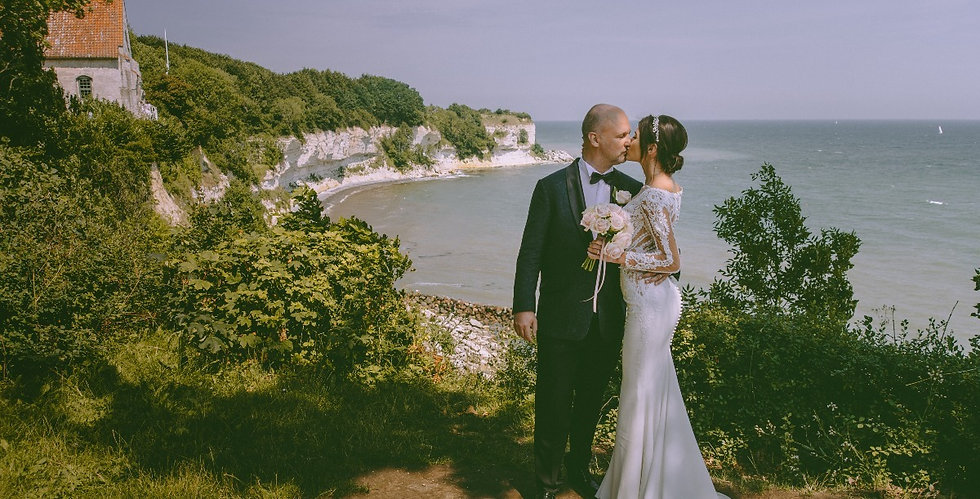 The couple eloping in Europe for magical touch wedding package in Denmark