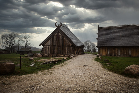 The King's Hall on a cloudy day, an ideal Denmark wedding venue for traditional Scandinavian weddings