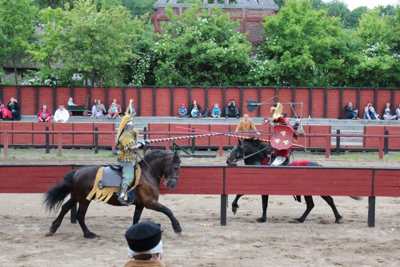A knight tournir in Denmark