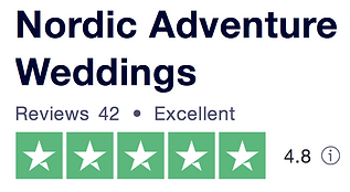 Our reviews from Trust Pilot as your destination wedding planners
