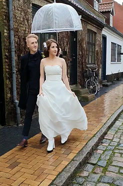 Adventure wedding in Denmark for the couple from Germany