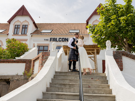 The Falcon Hotel for your adventure elopement