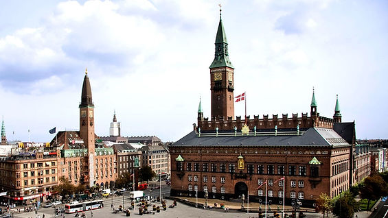 The Copenhagen City Hall, your destination for your civil marriage in Denmark