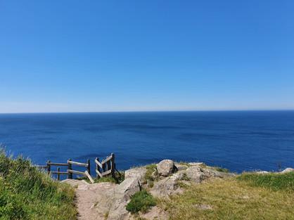 Coastal line on Bornholm island