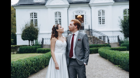 A video of Ivonne and Aaron on their castle wedding adventure in Denmark, one of the best places to elope abroad.