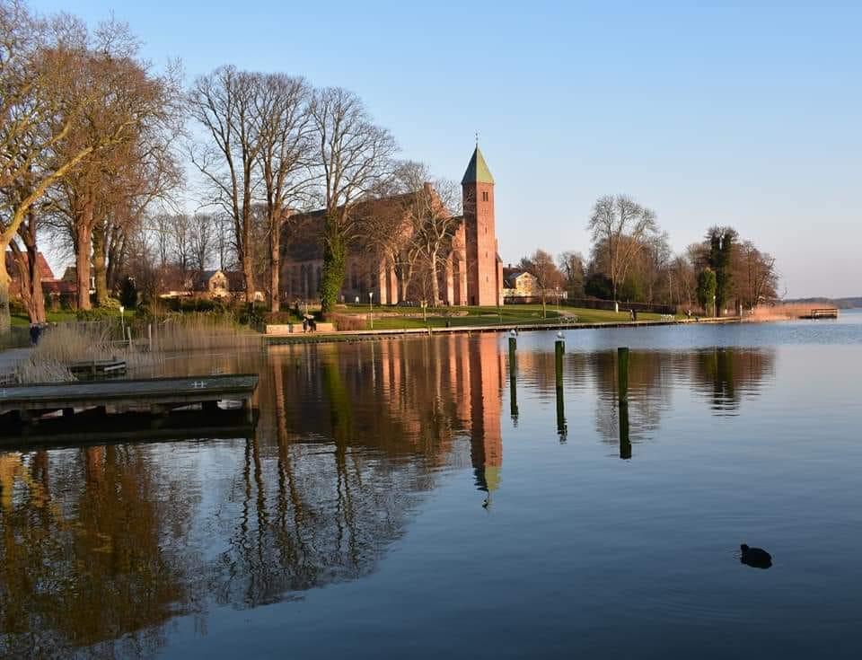 Maribo lake, a wedding venue in Denmark on Lolland island