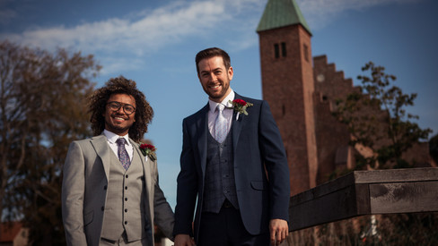 A video of a same-sex wedding ceremony in Denmark, a top destination wedding location for LGBT weddings.