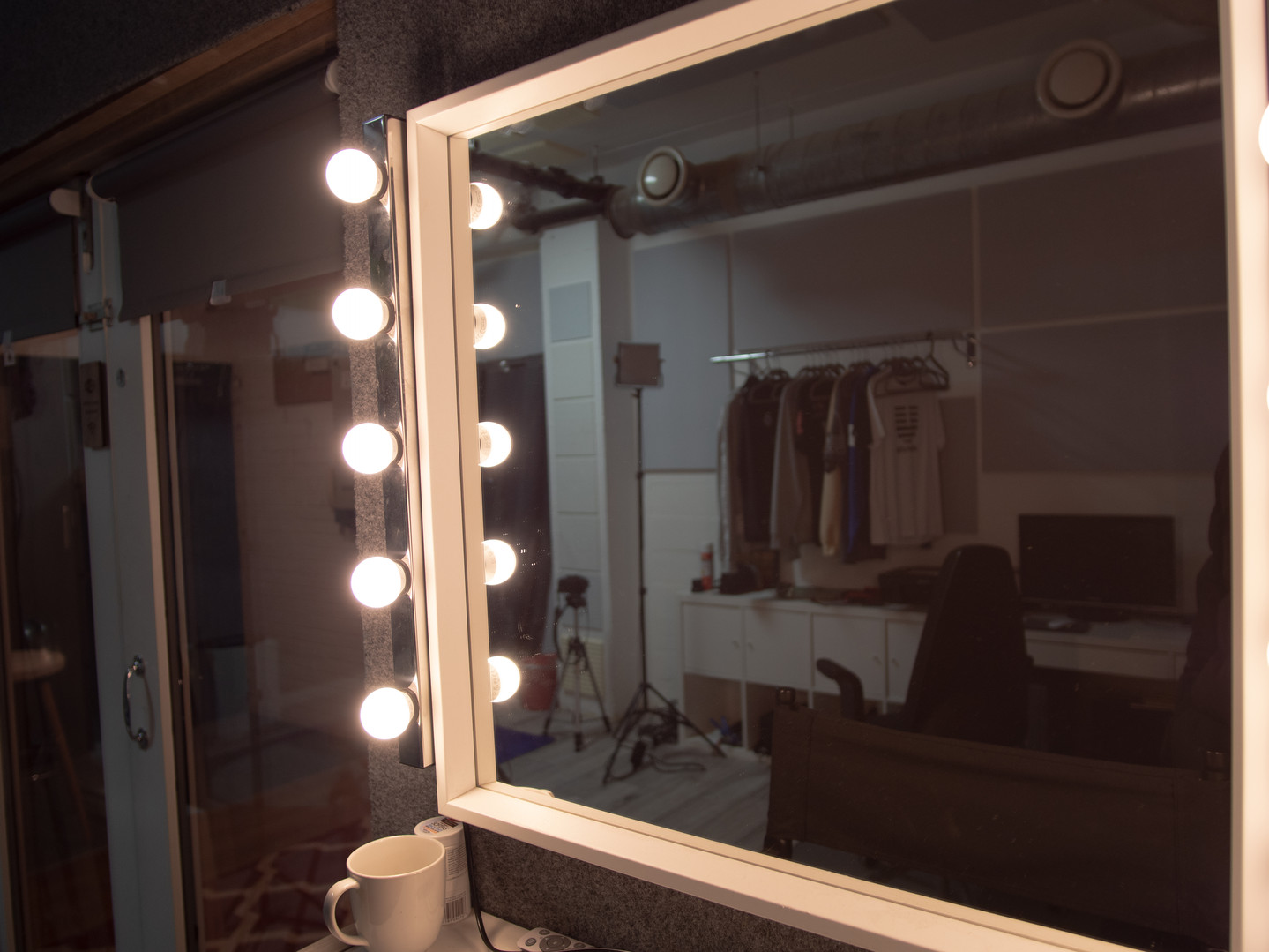 White Room Make Up Area