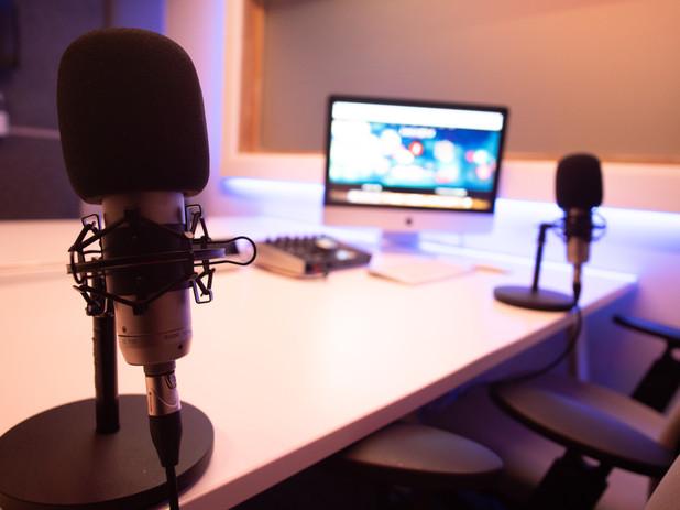 Studio C Podcast Mics